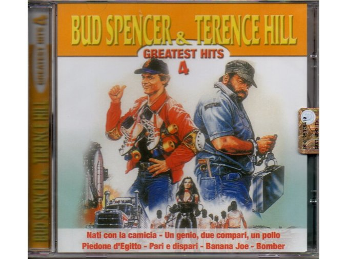 bud spencer & terence hill greatest hits 4 cd