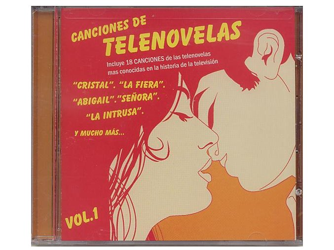 Canciones de Telenovelas vol. 1 (CD)