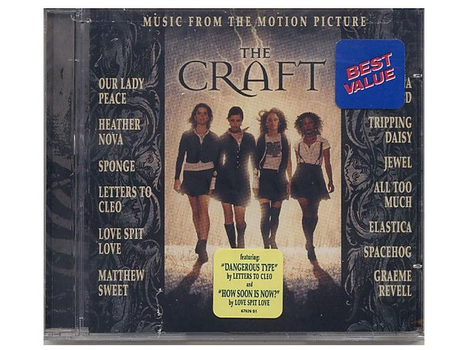Čarodějky (soundtrack - CD) The Craft