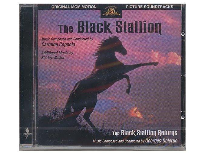 Černý hřebec / Návrat černého hřebce (soundtrack - CD) The Black Stallion / The Black Stallion Returns