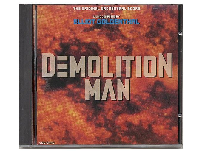 Demolition Man (soundtrack - CD)
