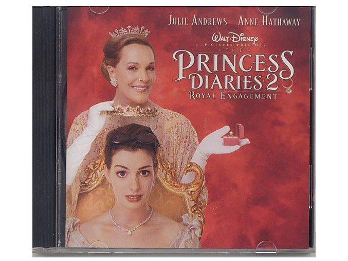 Deník princezny 2: Královské povinnosti (soundtrack - CD) The Princess Diaries 2: Royal Engagement