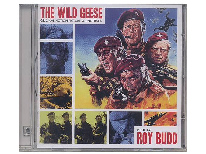 Divoké husy (soundtrack - CD) The Wild Geese