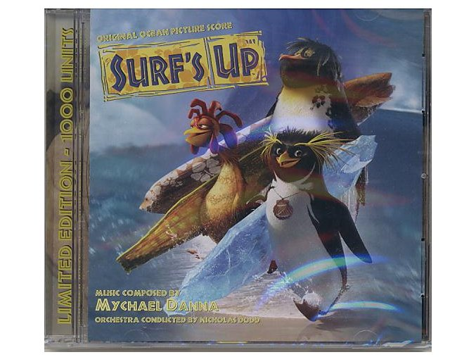 Divoké vlny (score - CD) Surfs Up