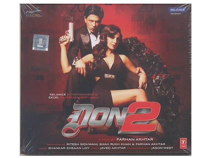 Don 2 (soundtrack - CD)