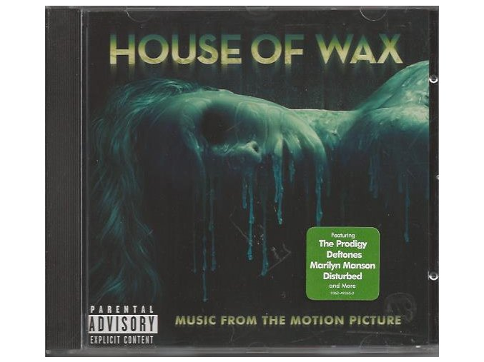 Dům voskových figurín (soundtrack - CD) House of Wax