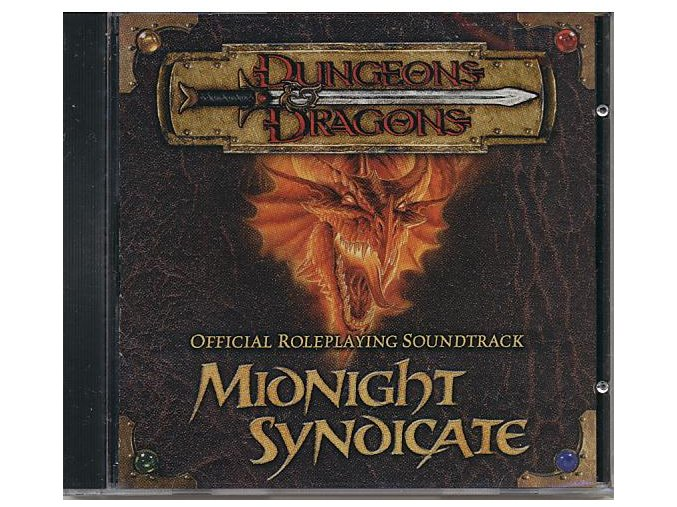 Dungeons & Dragons: Midnight Syndicate (soundtrack - CD)
