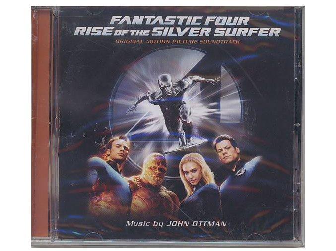 Fantastická čtyřka: Silver Surfer (soundtrack - CD) Fantastic Four: Rise of The Silver Surfer