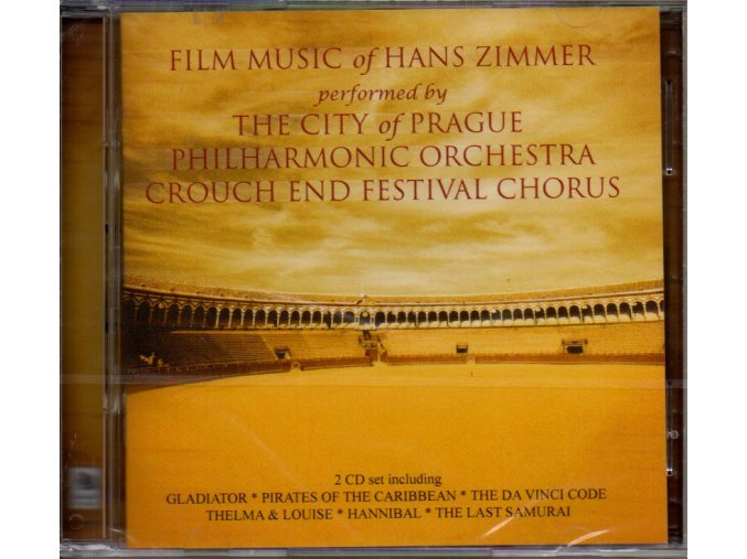 film music of hans zimmer 2 cd