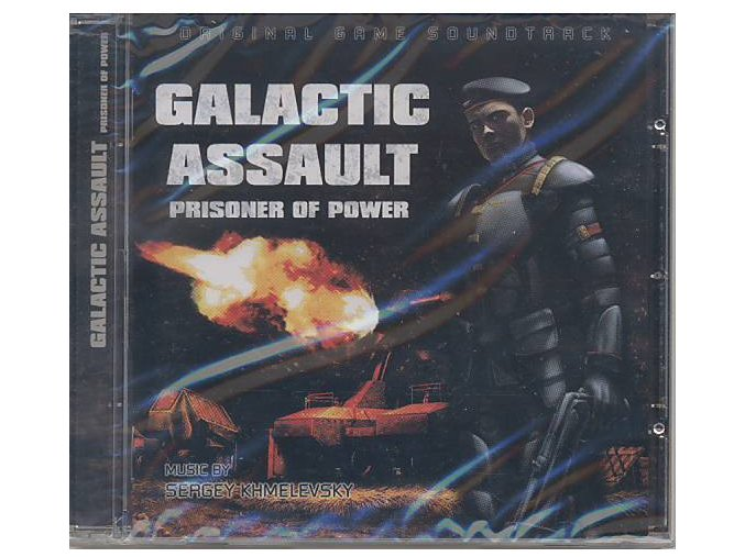 Galactic Assault: Prisoner Of Power (soundtrack - CD)
