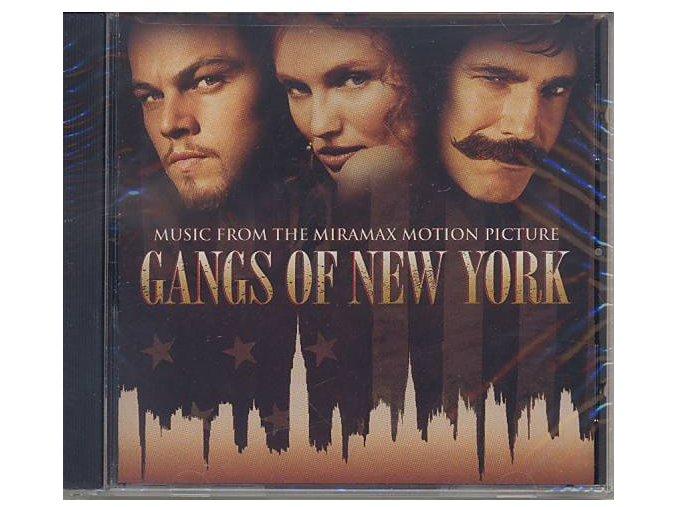 Gangy New Yorku (soundtrack - CD) Gangs of New York