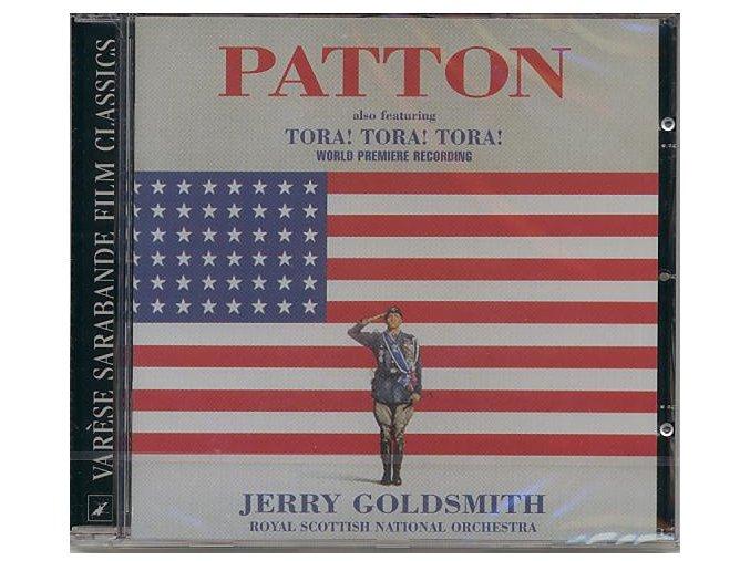 Generál Patton (soundtrack - CD) Patton / Tora! Tora! Tora!