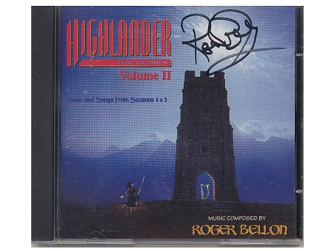 Highlander vol. 2 (soundtrack - CD)