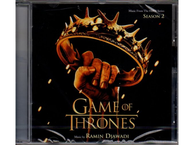 game of thrones season 2 soundtrack cd ramin djawadi