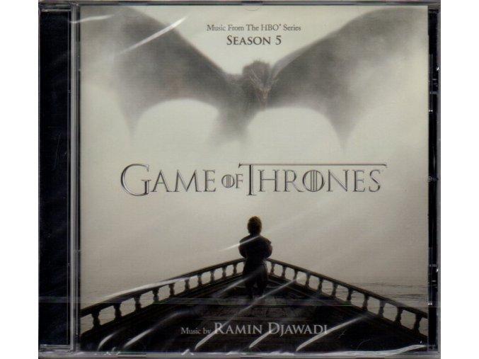 game of thrones season 5 soundtrack cd ramin djawadi