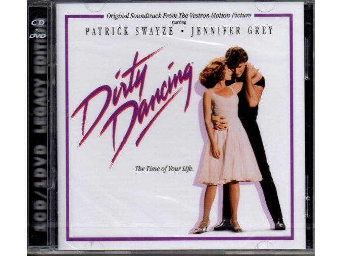 dirty dancing soundtrack cd + dvd