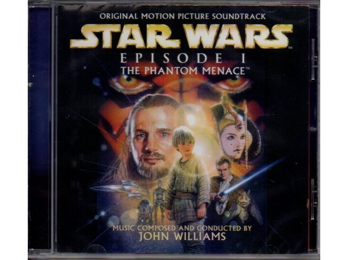 star wars episode 1 phantom menace soundtrack cd john williams