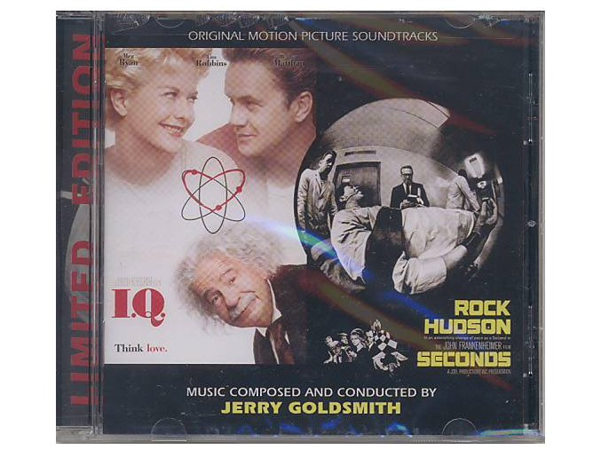 I.Q. / Seconds (soundtrack - CD)