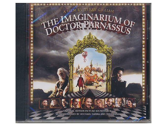 Imaginárium Dr. Parnasse (soundtrack - CD) The Imaginarium of Doctor Parnassus