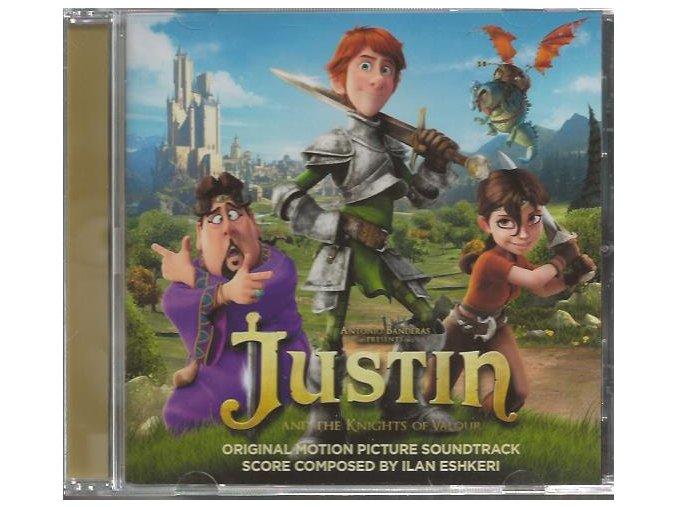 Justin: Jak se stát rytířem (soundtrack - CD) Justin and the Knights of Valour