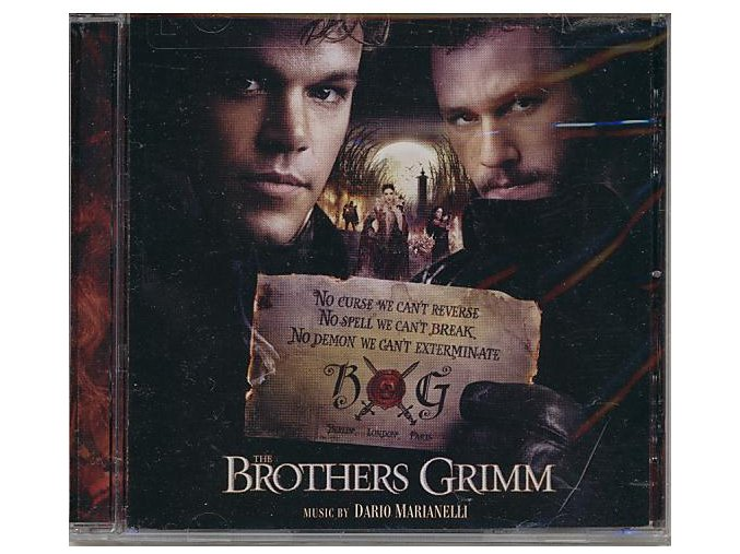 Kletba bratří Grimmů (soundtrack - CD) The Brothers Grimm