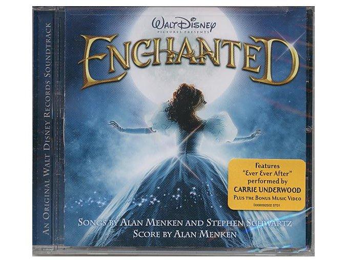 Kouzelná romance (soundtrack - CD) Enchanted