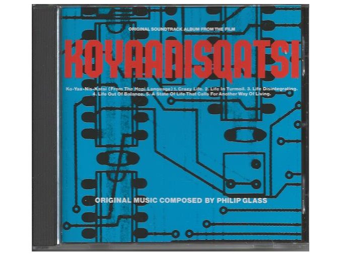 Koyaanisqatsi (soundtrack - CD)