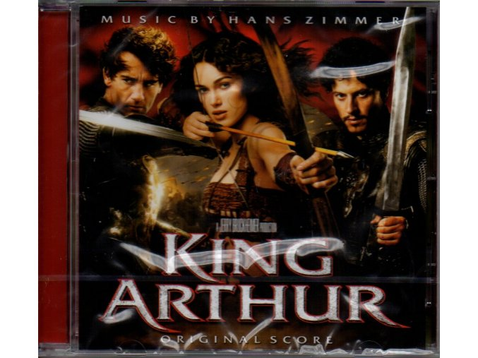 king arthur soundtrack cd hans zimmer