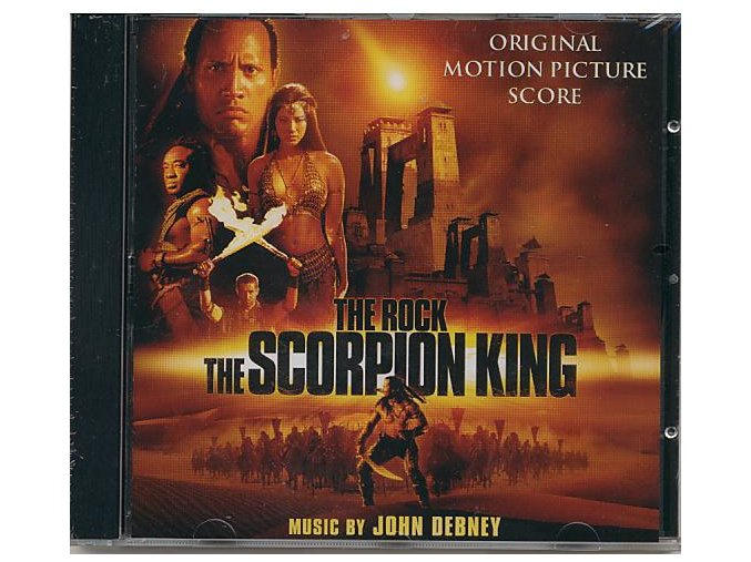 Král Škorpion (score - CD) The Scorpion King