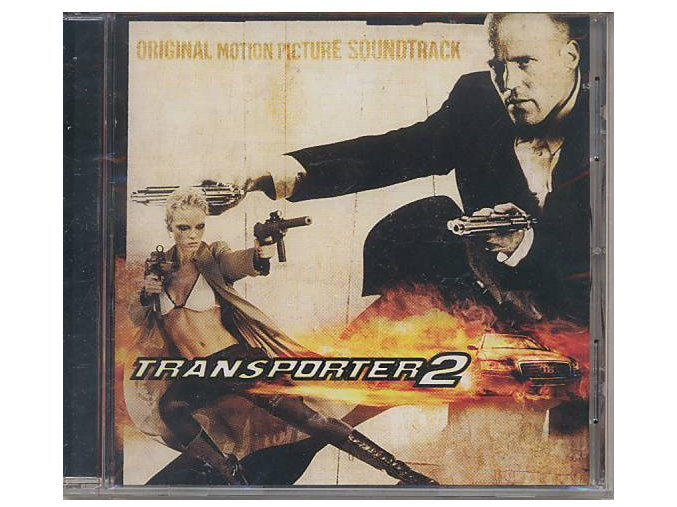 Kurýr 2 (soundtrack - CD) Transporter 2