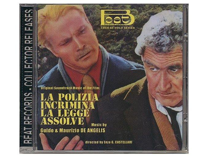 La Polizia Incrimina La Legge Assolve - High Crime (soundtrack - CD)