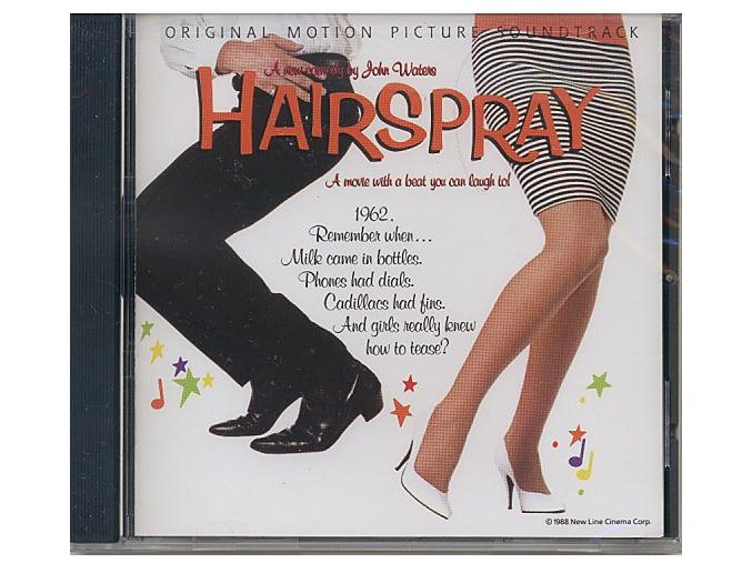 Lak na vlasy (soundtrack - CD) Hairspray