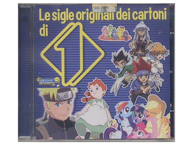 Le sigle originali dei cartoni di Italia-1 (CD)