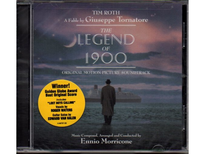 the legend of 1900 soundtrack cd ennio morricone