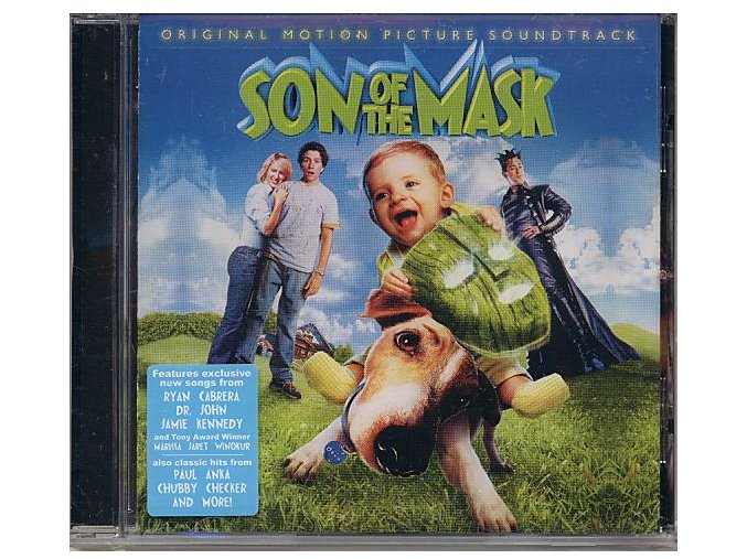 Maska Junior (soundtrack - CD) Son of the Mask