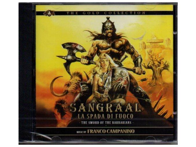Meč barbarů (soundtrack - CD) Sangraal, la spada di fuoco