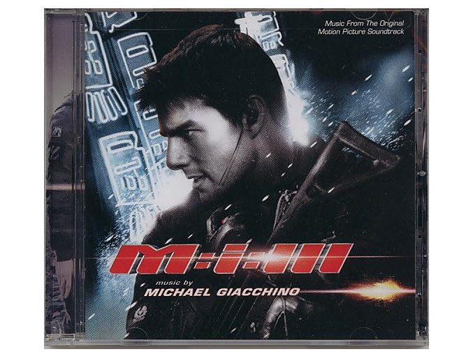 Mission: Impossible 3 (soundtrack - CD)
