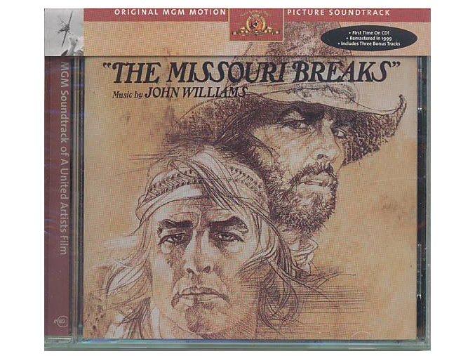 Missourské rokle / Zastavení na Missouri (soundtrack - CD) The Missouri Breaks