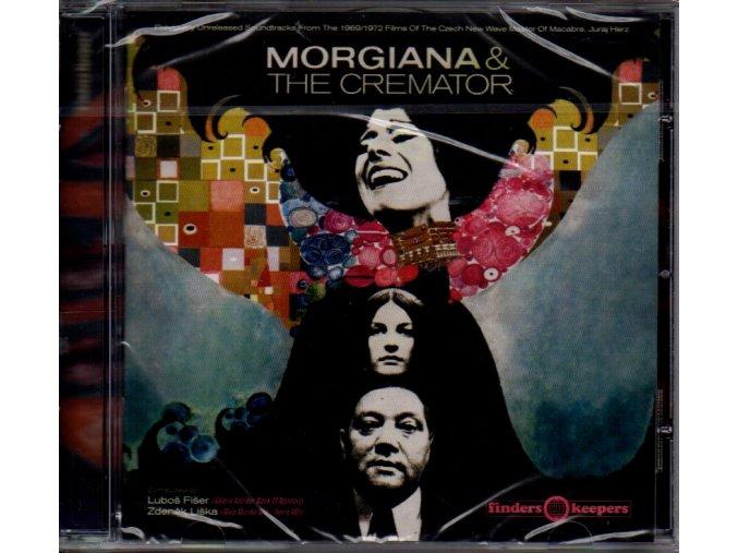 morgiana & cremator soundtrack cd fišer liška