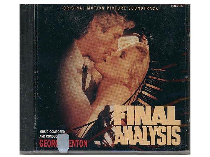 Mrazivá vášeň (soundtrack - CD) Final Analysis