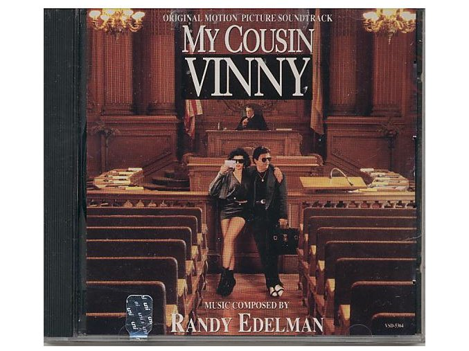 Můj bratranec Vinny (soundtrack - CD) My Cousin Vinny