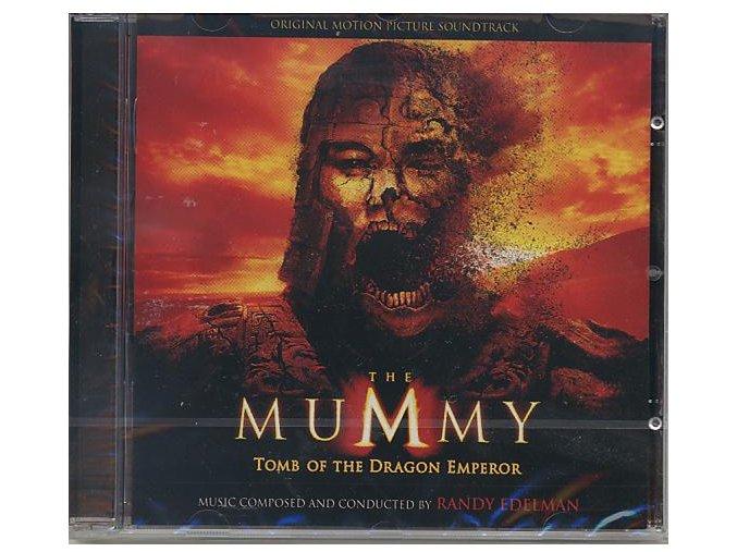 Mumie: Hrob Dračího císaře (soundtrack - CD) The Mummy: Tomb of the Dragon Emperor
