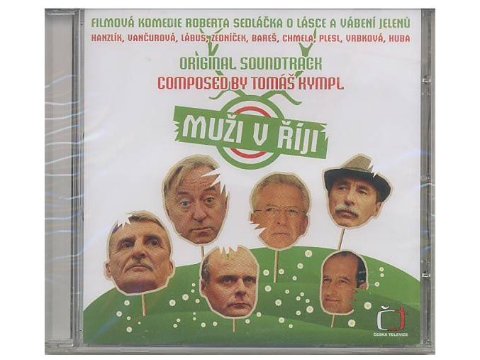 Muži v říji (soundtrack - CD)