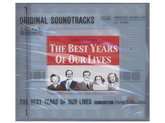 Nejlepší léta našeho života (soundtrack - CD) The Best Years of Our Lives