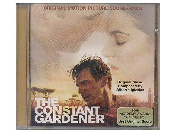 Nepohodlný (soundtrack - CD) The Constant Gardener