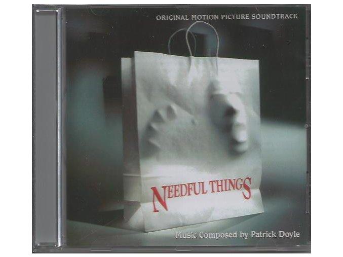 Obchodník s hrůzou (soundtrack - CD) Needful Things