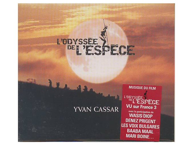 Odysea (soundtrack - CD) Putování člověka - L Odyssee de L Espece