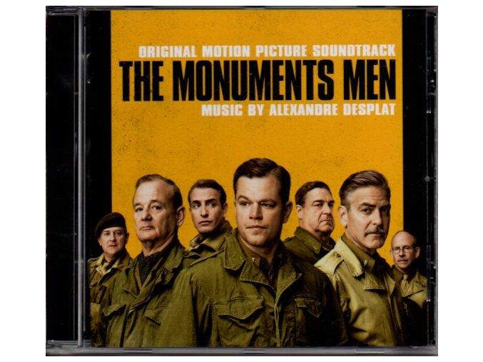 Památkáři (soundtrack - CD) The Monuments Men