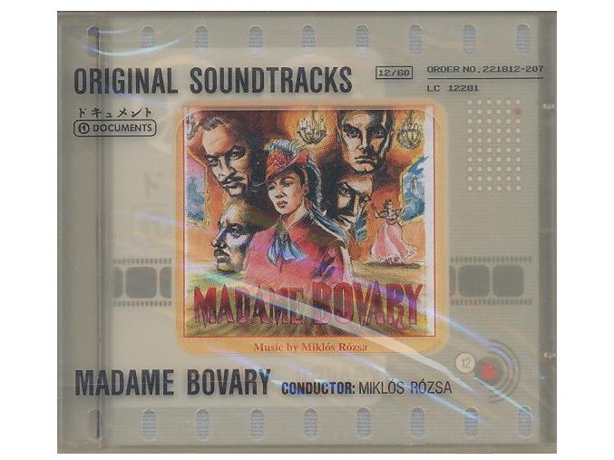 Paní Bovaryová (soundtrack - CD) Madame Bovary