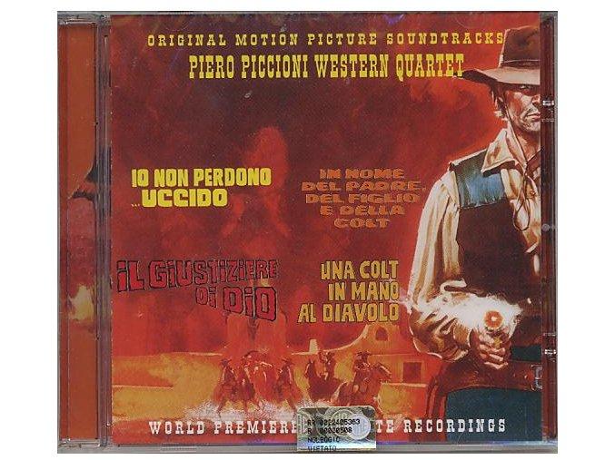 Piero Piccioni Western Quartet (CD)